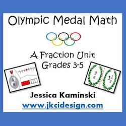 Olympic Medal Math Bundle