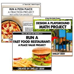 Real Life Math Projects Bundle