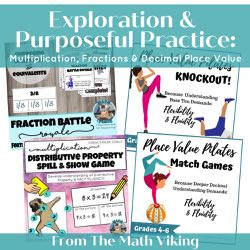 Exploration & Purposeful Practice Bundle