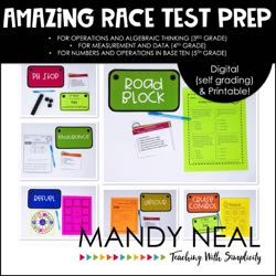 Amazing Race Test Prep Bundle